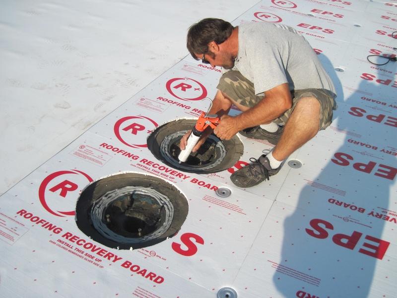 Preparing drains